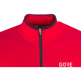 GORE WEAR C5 - Maillot manches longues Homme - rouge
